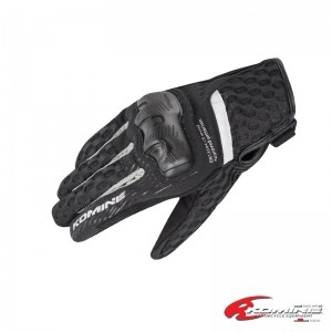 GK-244 Supreme Protect Mesh Gloves 코미네 여름 소프트 메쉬 글러브 BLACK-SILVER