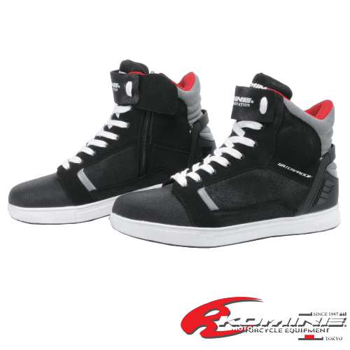 BK-084 PROTECT WP RIDING SNEAKER #BLACK